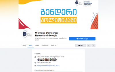 Women's Democracy Network of Georgia